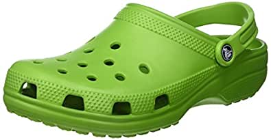 Crocs Unisex Classic (Cayman) - Unisex Parrot Green Clog/Mule Men's 4, Women's 6 Medium