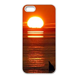 Sunset Rosy clouds charming scenery fashion phone case for iPhone 5s wangjiang maoyi by lolosakes