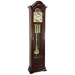 Hermle 01231030451 Atherton Grandfather Clock - Walnut