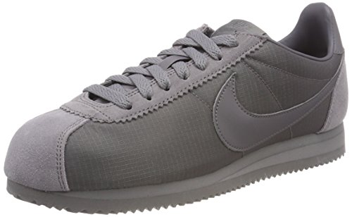 Nike Men's Classic Cortez Nylon Running Shoes Grey (Gunsmoke/Gunsmoke/White 009) 1t0TN35GY