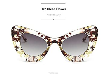 6a7724e5998 Image Unavailable. Image not available for. Colour  Clout Goggles Cat Eye  Sunglasses NIRVANA Kurt Cobain ...