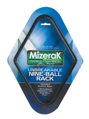 Mizerak Plastic Nine Ball Rack - Mizerak Billiards Balls