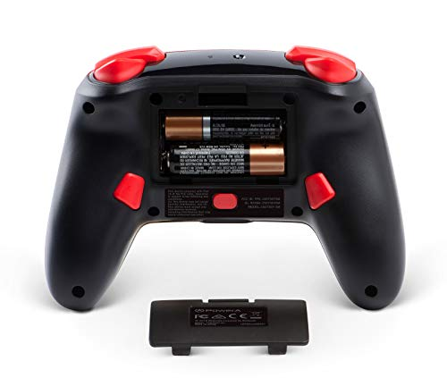 PowerA Enhanced Wireless Controller for Nintendo Switch - Mario Silhouette 3