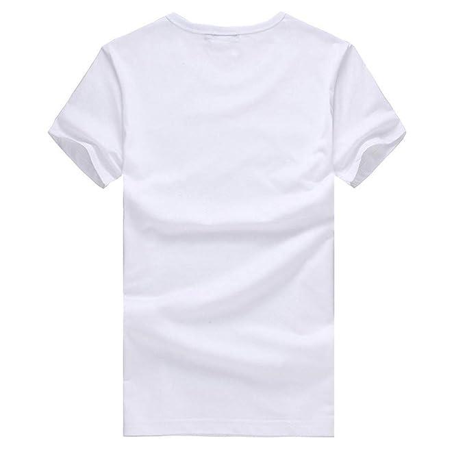 waotier Camiseta De Manga Corta para Hombre Ropa Estampada De ...