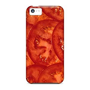 Premium Background Of Rings Tomatoes Back Cover Snap On Case For Iphone 5c
