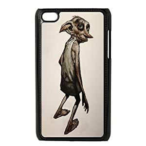 iPod Touch 4 Phone Case Black Dobby WQ5RT7523369