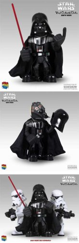 Medicom Star Wars Darth Vader VCD Vinyl Collectible Doll Figure