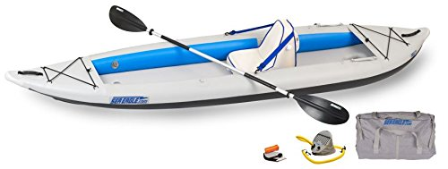 Sea Eagle 385FT FastTrack Deluxe Solo Inflatable Kayak 12'6