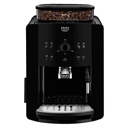 chollos oferta descuentos barato Krups Arábica Cafetera Espresso Automática 1450 W 1 7 litros Acero Inoxidable Negro