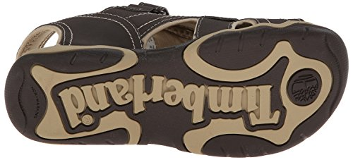 Timberland Adventure Seeker Ct - sandalias al dedo para niños Braun (Brown With Tan)