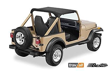 Amazon Strapless Bikini Black 1987 1991 Jeep YJ Wrangler 52509