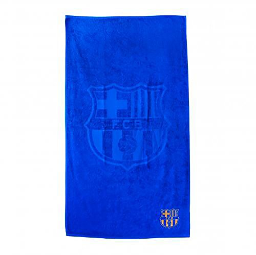 Barcelona Football Club - FC BARCELONA Embroidered Towel - Official, licensed product - Beautiful color - Just in time for Summer!