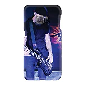 Scratch Resistant Cell-phone Hard Covers For Samsung Galaxy S6 With Provide Private Custom Trendy Godsmack Band Series TammyCullen