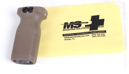 Magpul Model 412 Flat Dark Earth with FREE MSP Cleaning Cloth Package