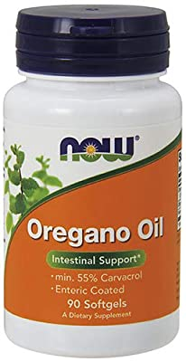 Now Foods Oregano Oil Softgels – High Potency Immune & Digestive Support Supplement, Natural Antibiotic – Gluten Free