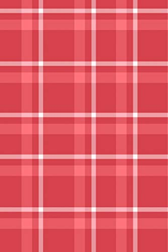 Pdf Money NoteBook: Red Plaid; Exercise Book 190 Lined Journal Pages | Diary | 6'x 9' Large Composition Note Book Gloss Finish Paperback (Notebook lined pages with blank Date and Page number)