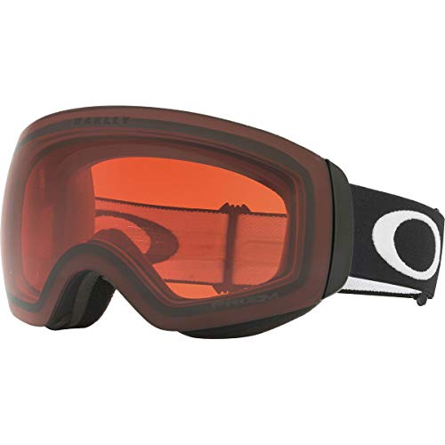 Oakley Flight Deck Xm Snow Goggles, Matte Black, Prizm Rose, Medium