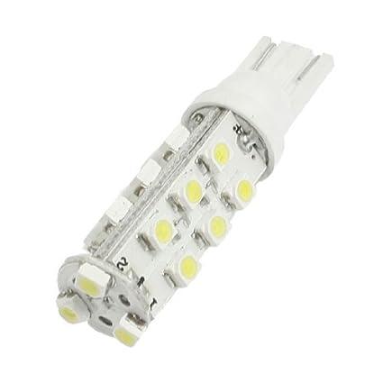 Amazon.com: eDealMax Blanco T10 21 3528 1210 SMD LED coche Strob destello de luz Brillante Steady: Automotive