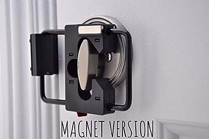 Magnet Version Black//Black LOKmate Deadbolt Guard Door Lock Security