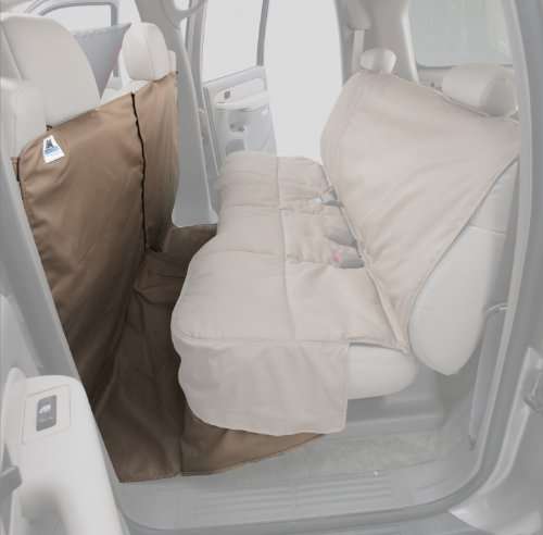 (Canine Covers CoverAll 2nd Row Custom Fit Seat Protector for Select Honda Accord Models - Polycotton (Taupe))