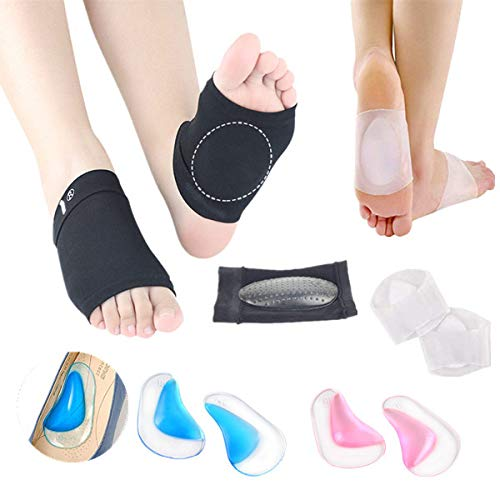 mejores inserciones de talón para pies planos