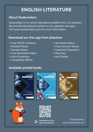 Studyrankers Class 10 English Language and Literature for