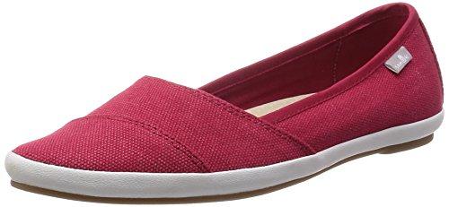 Sanuk Womens Kat Prowl Slip-On Loafer Red