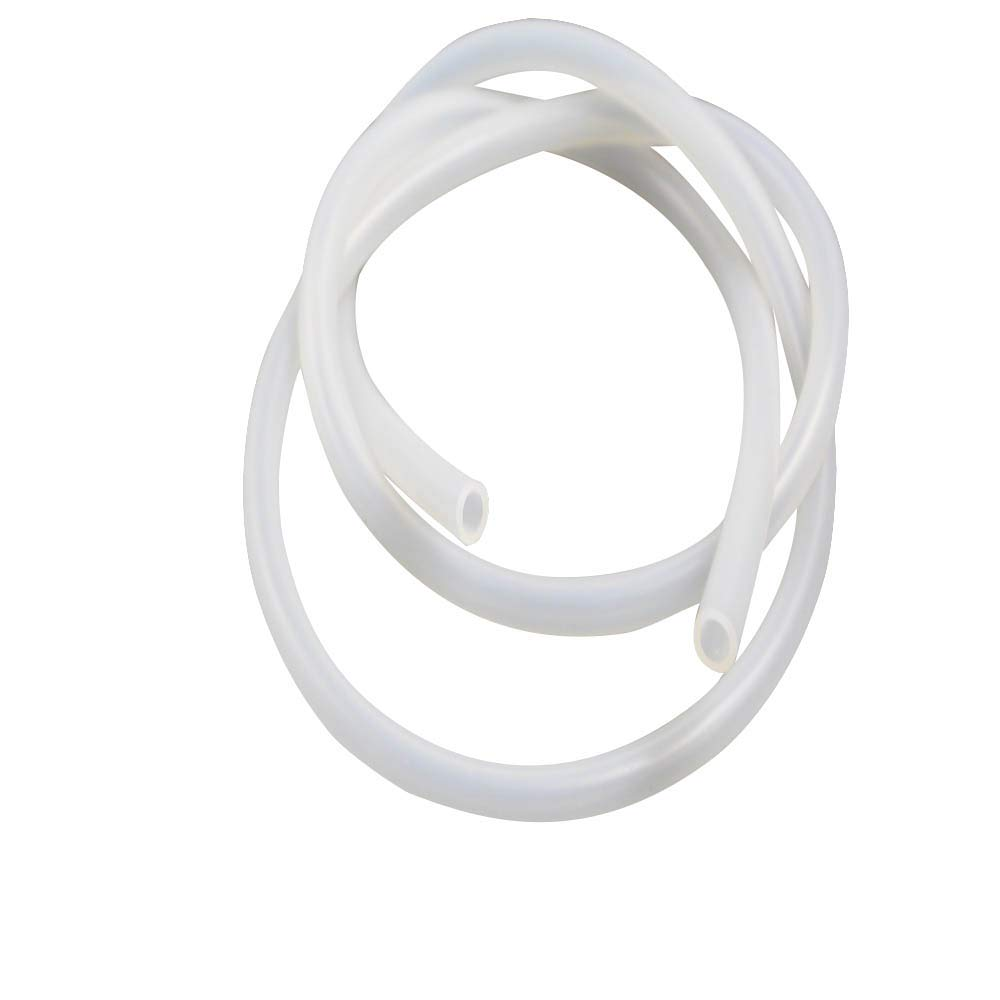 1/4 Inch Food Grade High Temperature Silicone Rubber Tubing ID 6mm OD 9mm