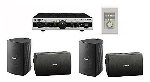 Restaurant Sound System with Yamaha VS4 Speakers and MA2030 Mixer Amplifier (Restaurant Sound System)