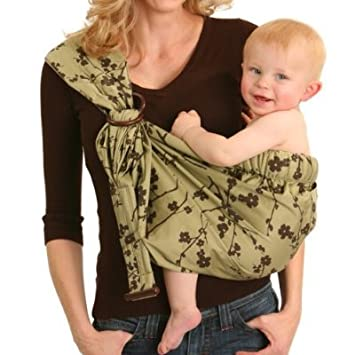 a5b6410e880 Amazon.com   Dr. Sears Balboa Baby Adjustable Sling Green   Blossom ...