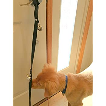 Dog Bells For Potty Training Puppy This Door Bell For Dog To Ring To Go Outside