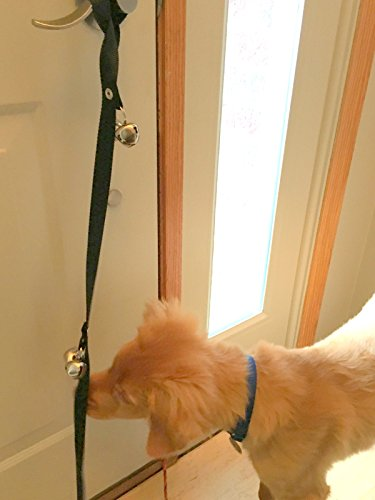 Puppy Housetraining Potty Bell Dog Bell Doorbell Fun Fast Effective Housebreaking Aid For Your Dog That Uses Positive Reinforcement Methods To House Train Your Pet For When They Need To Tinkle