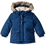 Osh Kosh Boys' Little Heavyweight Winter Jacket with Hood Trim