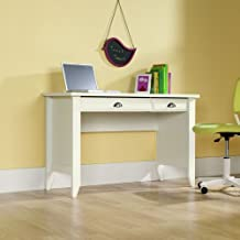 Sauder Shoal Creek Computer Desk, Soft White Finish