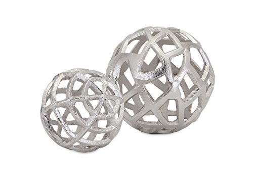 Imax Trisha Yearwood Home 10464-2 Outer Banks Spheres - Set of 2 - Decorative Spheres
