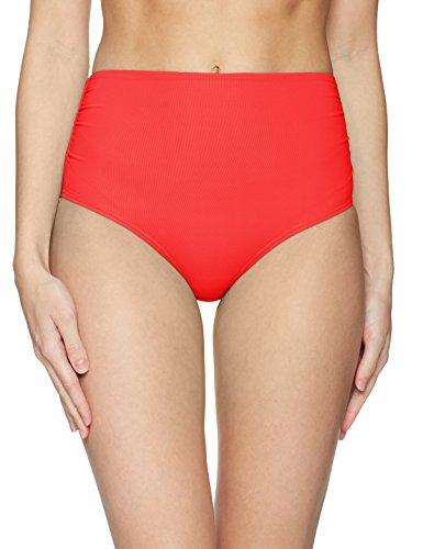 Anne Cole Women's Convertible High Waist Bikini Swim Bottom, Red, M Anne Cole Bikini