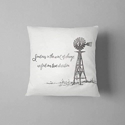 Athena Bacon Windmill - Funda de almohada decorativa ...