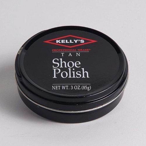 3 Oz. Kelly's Paste Wax Shoe Polish - Mahogany