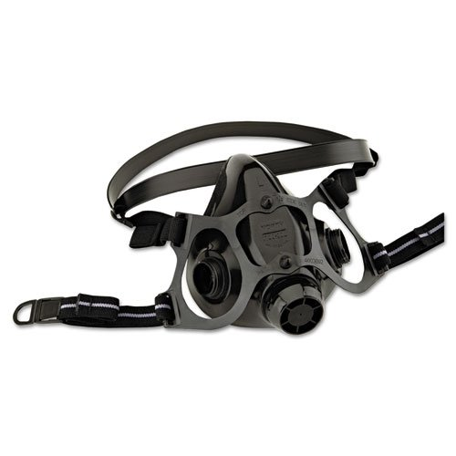 North Safety 7700 Series Half-Face Mask Respirator, Medium