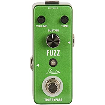 Rowin Analog Fuzz Electronic Guitar Effect Pedal