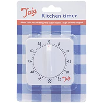 Amazon Com White Kitchen Timer With Loud Ring Kitchen