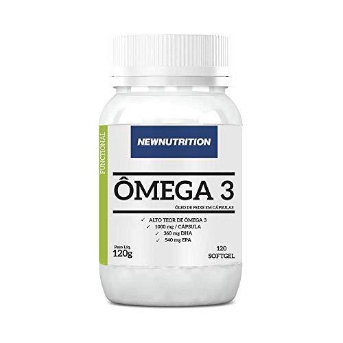 Omega 3 120 caps Sem sabor NewNutrition