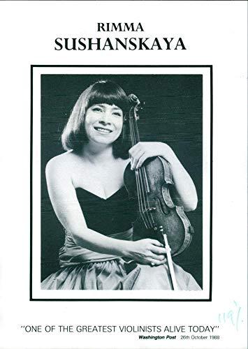 Vintage photo of Rimma Sushanskaya