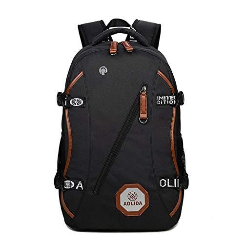 Olprkgdg color Viaggio Black Oxford Blue Da In Per Impermeabile Esterni Uomo Borsa Tessuto Zaino Laptop 4rBT4qS