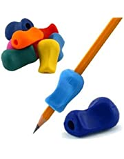 The Pencil Grip Original Universal Ergonomic Writing Aid for Righties and Lefties, 6 Count, Assorted Colors (TPG-11106)