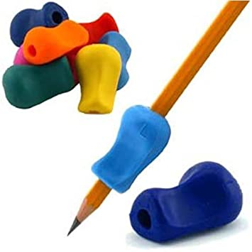 Amazon The Pencil Grip Original Universal Ergonomic Writing Aid For Righties And Lefties 6 Count Assorted Colors TPG 11106 Office Products