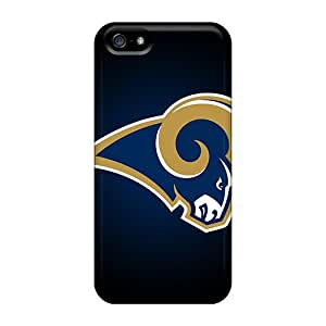 High Quality Shock Absorbing Case For Iphone 5/5s-st. Louis Rams