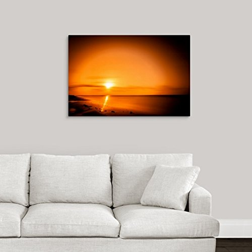 greatBIGcanvas Gallery-Wrapped Canvas entitled Burning Light by Great BIG Canvas 36''x24'' by greatBIGcanvas