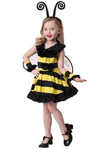 Toddler Girl's Deluxe Bumble Bee Costume -