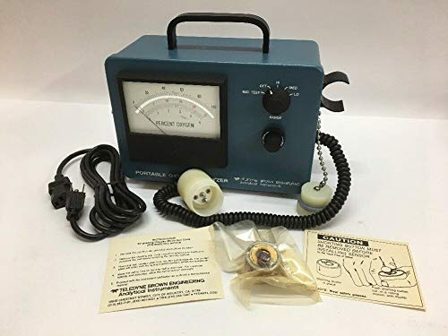 Portable Oxygen Analyzer Model 320 Series Teledyne Brown Engineering